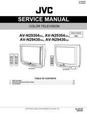 Buy JVC AV-N29430 TECHNICAL DATA by download #130616