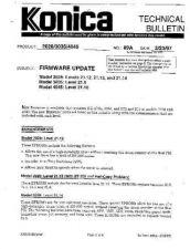 Buy Konica 89A FIRMWARE UPDATE Service Schematics by download #136318