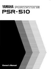Buy Yamaha PSR510E Operating Guide by download Mauritron #204155