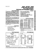 Buy SEMICONDUCTOR DATA MAX263 4 7 8J Manual by download Mauritron #189407