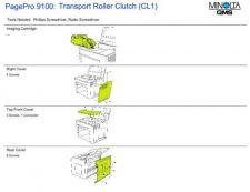 Buy MINOLTA cl1 Service Manual by download #138024