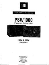 Buy INFINITY PSW-D110 SM Service Manual by download #147636
