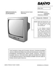 Buy Sanyo DS19310(SM5110244-05,04,02,01) Manual by download #174004
