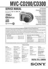 Buy Sony MVCCD1000 Service Manual by download Mauritron #194075