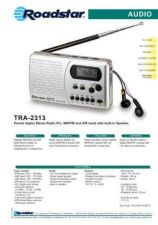 Buy ROADSTAR TRA-2313 by download #128524