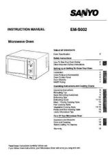 Buy Sanyo EM-G274 Manual by download #174310
