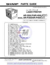 Buy Sharp AR350M-450M-M350-M450 CD GB-JP(1) Manual by download #179442