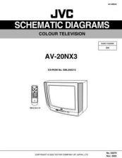 Buy JVC AV-20NX3 schem Service Schematics by download #155318