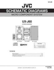 Buy JVC UX-H35 PAR TECHNICAL DATA by download #131529