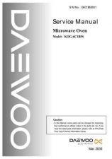 Buy Daewoo Model KOG-311M0P,KOG-311Q0P Manual by download #168623