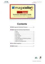 Buy QMS MAGICOLOR 2 DESKLASER TIG RV 01 Service Schematics by download #138660
