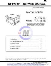 Buy Sharp AR122-123-152-153-157-EN SM SUPPLEMENT GB Manual by download #179334