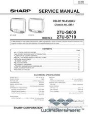 Buy Sharp 27US600 US710FINAL Manual.pdf_page_1 by download #178042