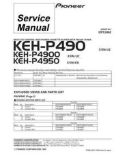 Buy PIONEER C2402 Service Data by download #148891