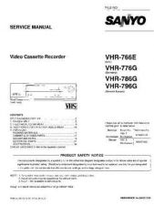 Buy SANYO VHR-776GD by download #154336