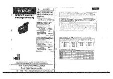 Buy Hitachi VM-E110E Manual by download Mauritron #184652