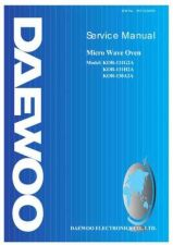 Buy DAEWOO MCD1311W SERVICE MANUAL Manual by download Mauritron #184809