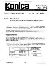 Buy Konica 35 BLANK LCD Service Schematics by download #136129