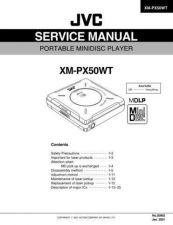 Buy JVC XM-PX50WT Service Schematics by download #131568