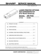 Buy Sharp AR-D13 D14-SM Service Manual by download #138805