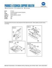 Buy Minolta 3694 Service Schematics by download #136653