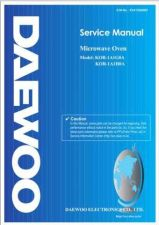 Buy Daewoo R1A0A0PAL1 Manual by download #168762