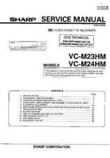 Buy Sharp VCM25HM-012 Service Schematics by download #158780