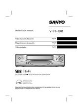 Buy Sanyo VHR-H601OM5310280-00 13 Manual by download #177468