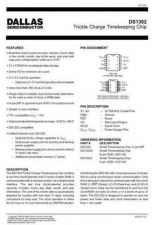 Buy INTEGRATED CIRCUIT DATA DS1302J Manual by download Mauritron #186829