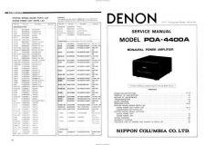 Buy DENON POA4400A SERVICE Manual by download #183559