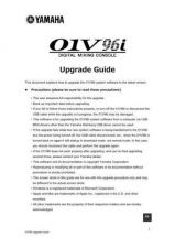 Buy Yamaha 01V96I EN VM A0 Operating Guide by download Mauritron #204323