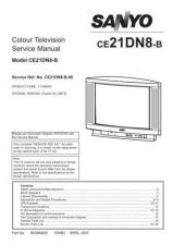 Buy Sanyo CE21DN8-B-00 S Manual by download #171508