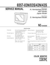 Buy SONY 6557-03S Service Manual by download #166201