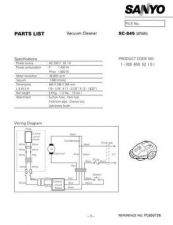Buy Sanyo SCP5400(OM) Manual by download #175308