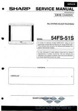 Buy Sharp 54FS51S SM SUPPLEMENT GB(1) Manual.pdf_page_1 by download #178635