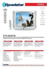 Buy ROADSTAR CTV-2034T S by download #128026