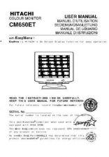 Buy Sanyo CM650ET DE Manual by download #173534