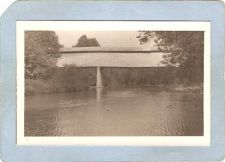 Buy GEN Unknown Covered Bridge Postcard Covered Bridge Real Photo Post Card RP~1050