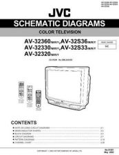Buy JVC AV-32320 SCHEM TECHNICAL DATA by download #130558