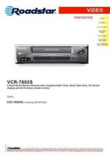 Buy ROADSTAR VCR-7692S by download #128574