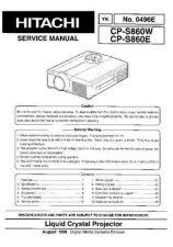 Buy HITACHI No 0496E Service Data by download #147279