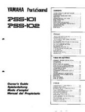 Buy Yamaha PSS102E Operating Guide by download Mauritron #205062