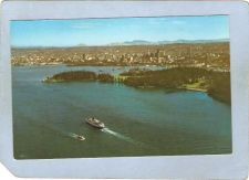Buy CAN Vancouver Postcard Aerial View Of Harbour Park & City can_box1~115