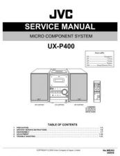 Buy JVC UX-P3sch Service Manual by download #156646