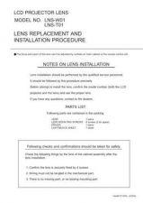 Buy Sanyo LMU-TK40C2 Manual by download #174556