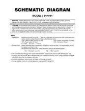 Buy TOSHIBA 34HF84CD Service Schematics by download #159915