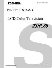 Buy TOSHIBA 23HL85 CD Service Manual by download #167355