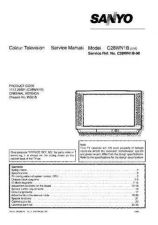 Buy Sanyo C28WN1B SM-Only Manual by download #172712