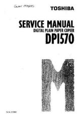 Buy Toshiba DP1570 AI1515F Service Manual by download #139252