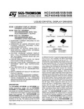 Buy SEMICONDUCTOR DATA 4054, 4055, 4056J Manual by download Mauritron #186901